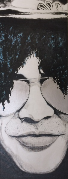 The big five- Slash-quadro-DanielaMusone-Sounvasart