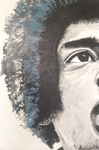 The big five- Hendrix-quadro-DanielaMusone-Sounvasart