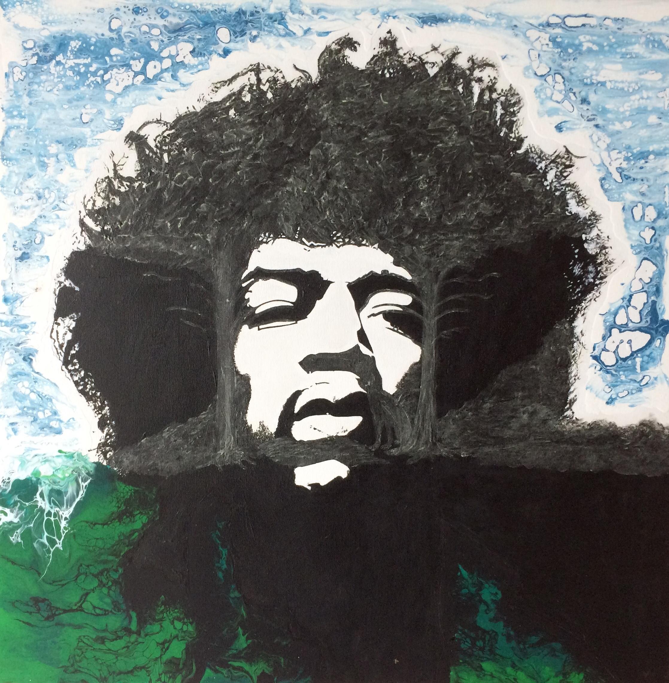 Le foreste di Woodstock-quadro-DanielaMusone-Sounvasart