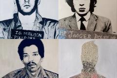"""Banditi parte I-II-III-IV -Hendrix-Morrison-Jagger-quadro-DanielaMusone-Sounvasart"