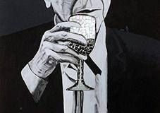 LeonardCohen-quadro-DanielaMusone-sounvasart